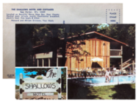 One of the first Shallows postcards sent out circa 1968